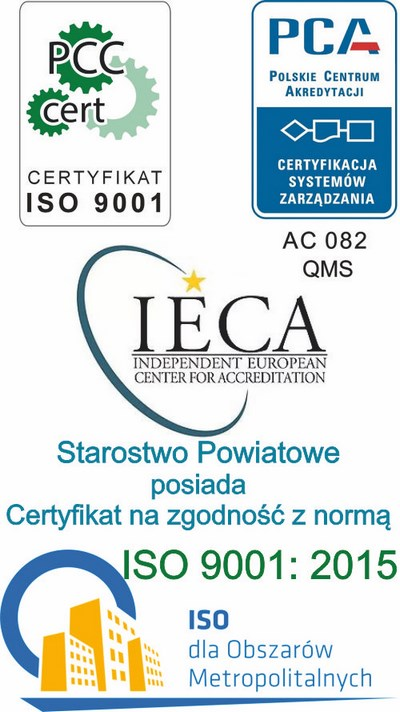 Certyfikat ISO - International Organization for Standardization